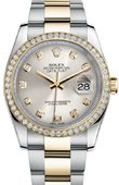 Rolex Datejust 116243 sdo 36mm Steel and Yellow Gold