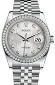 Rolex Datejust 116244-sjdj 36mm Steel and White Gold