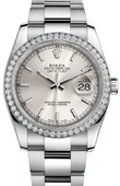 Rolex Datejust 116244 sio 36mm Steel and White Gold
