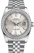 Rolex Datejust 116244 sij 36mm Steel and White Gold