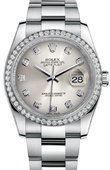 Rolex Datejust 116244 sdo 36mm Steel and White Gold