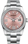 Rolex Datejust 116244 pwdao 36mm Steel and White Gold