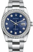 Rolex Datejust 116244 bljdo 36mm Steel and White Gold