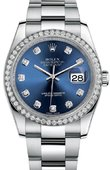 Rolex Datejust 116244 bldo 36mm Steel and White Gold