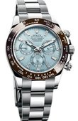 Rolex Daytona 116506 blue diamond dial Platinum