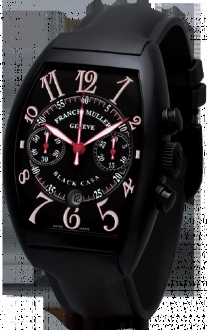 097ac371 Franck Muller 8885 C CC DT NR Red Casablanca Automatic Chronograph ...