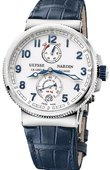 Ulysse Nardin Marine Manufacture 1183-126/60 Chronometer 43 mm Steel