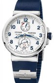 Ulysse Nardin Marine Manufacture 1183-126-3/60 Chronometer 43 mm Steel