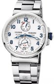 Ulysse Nardin Marine Manufacture 1183-126-7M/60 Chronometer 43 mm Steel