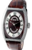 Franck Muller Cintree Curvex 5850 SC CHR MET D Brown Chronometro