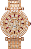 Franck Muller Double Mystery 42 DM D 2R CD F Rose Gold Ruby Ronde