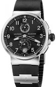 Ulysse Nardin Marine Manufacture 1183-126-3/62 Chronometer 43 mm