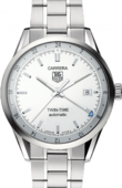 Tag Heuer Carrera WV2116.BA0787 Calibre 7 Twin Time Automatic 39 mm