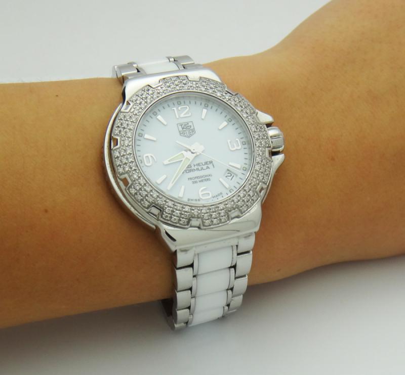 Tag Heuer Diamond Watch