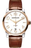 Montblanc Timewalker 106500 Montblanc Timewalker Automatic Steel Gold