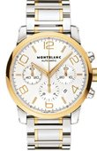Montblanc Часы Montblanc Timewalker 107320 Montblanc Timewalker Steel Gold Chronograph Automatic