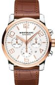 Montblanc Timewalker 107322 Montblanc Timewalker Steel Gold Chronograph Automatic