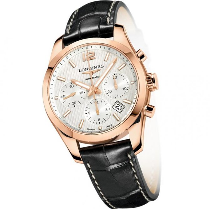 Longines L2.786.8.76.3 Watchmaking Tradition Conquest Classic - фото 1