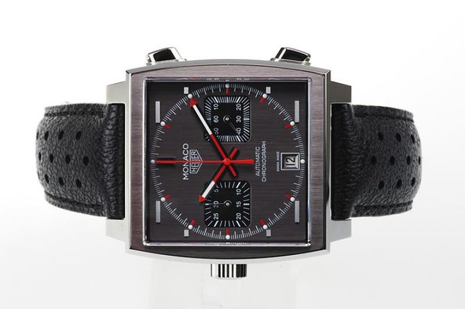 Tag Heuer CAW211B.FC6241 Monaco Calibre 11 Limited Edition Automatic Chronograph 39 mm  - фото 2