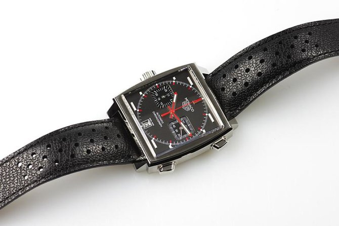 Tag Heuer CAW211B.FC6241 Monaco Calibre 11 Limited Edition Automatic Chronograph 39 mm  - фото 3