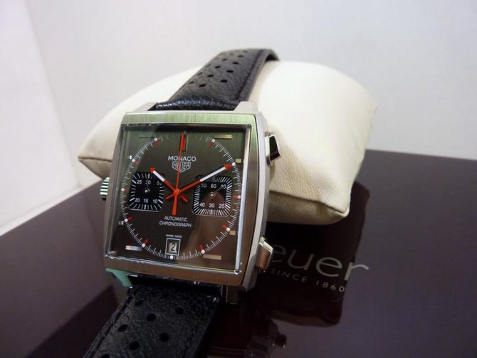 Tag Heuer CAW211B.FC6241 Monaco Calibre 11 Limited Edition Automatic Chronograph 39 mm  - фото 6