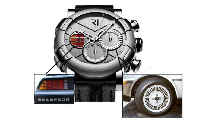 Romain Jerome RJ.M.CH.DE.001 01 Capsules DeLorean-DNA  - фото 4