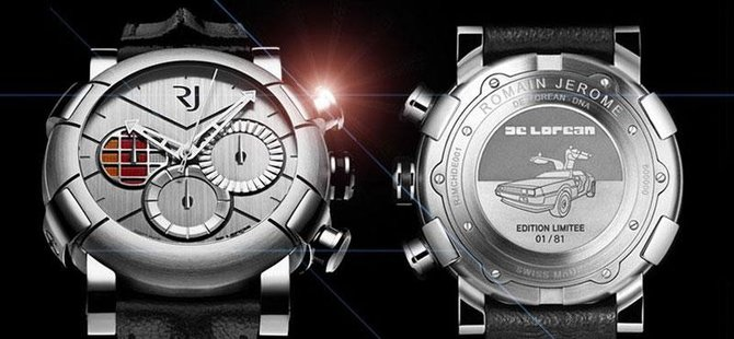 Romain Jerome RJ.M.CH.DE.001 01 Capsules DeLorean-DNA  - фото 5