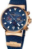 Ulysse Nardin Maxi Marine Chronograph 356-68LE-3 Blue Seal Limited Edition 999