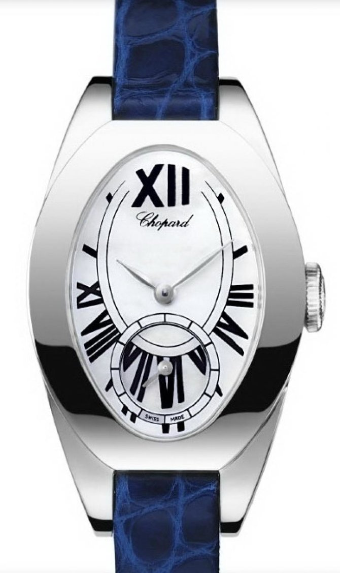 Chopard 127228-1001 Ladies Classic Femme Cat Eye Small Seconds
