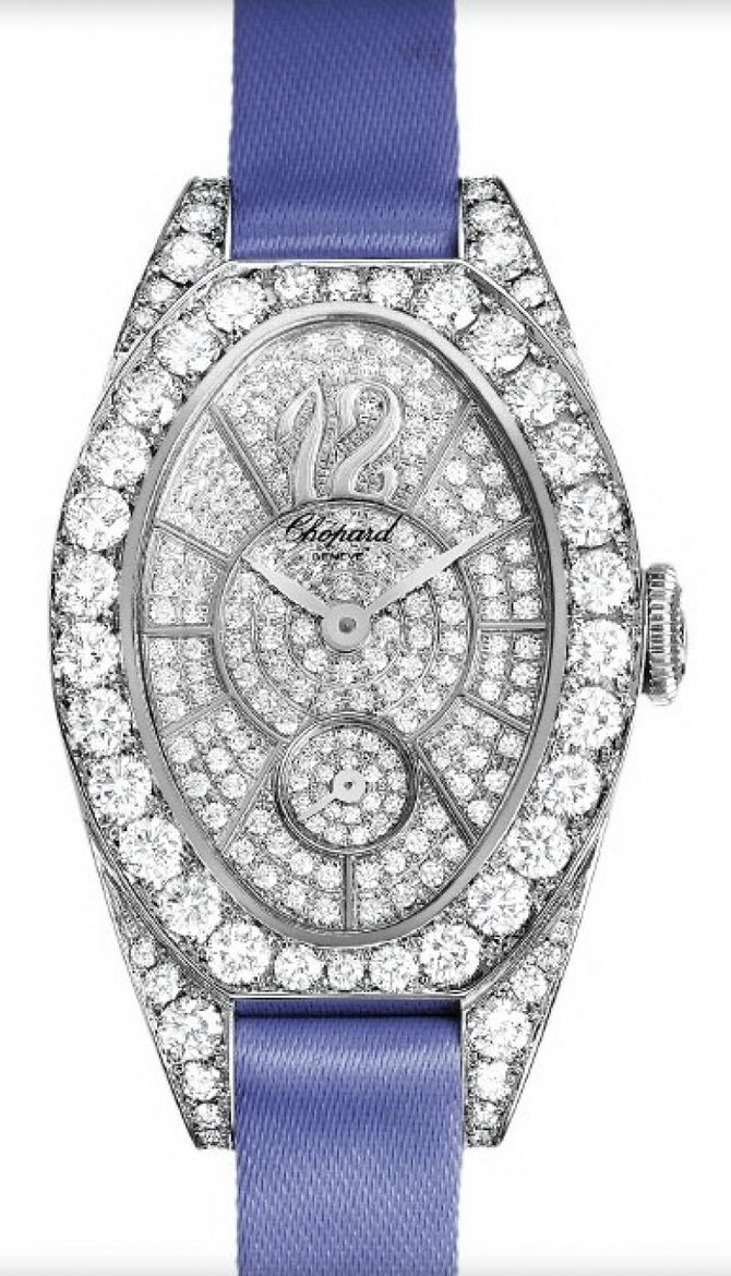 Chopard 137228-1001 Ladies Classic Femme Cat Eye Small Seconds
