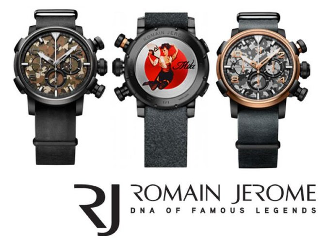 Romain Jerome RJ.P.CH.002.01 Capsules Nose Art–DNA - фото 4
