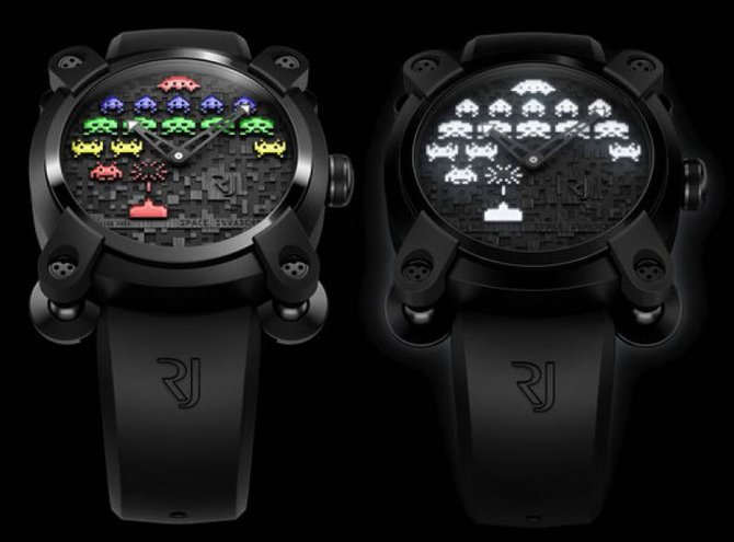 Romain Jerome RJ.M.AU.IN.006.02 Capsules Space Invaders - фото 5
