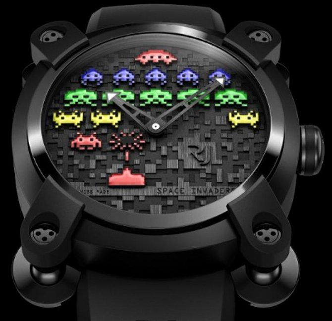 Romain Jerome RJ.M.AU.IN.006.02 Capsules Space Invaders - фото 4