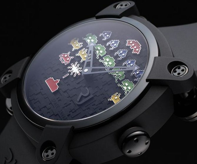 Romain Jerome RJ.M.AU.IN.006.02 Capsules Space Invaders - фото 7