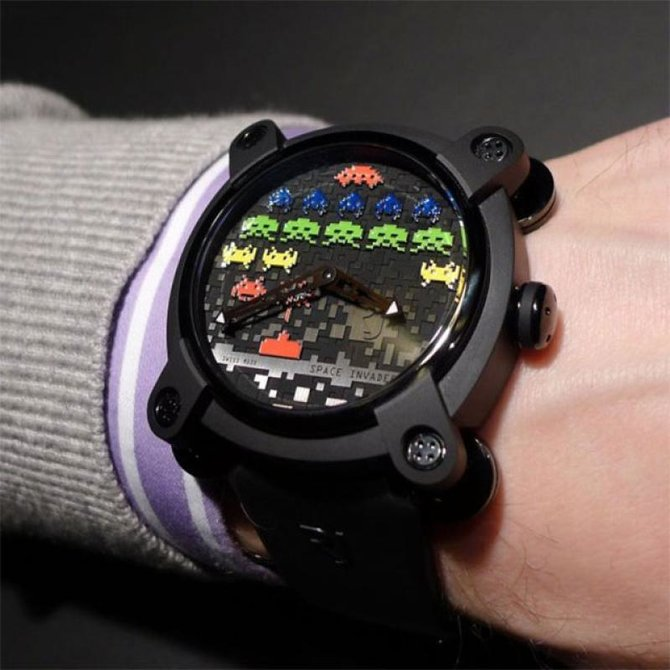 Romain Jerome RJ.M.AU.IN.006.02 Capsules Space Invaders - фото 8