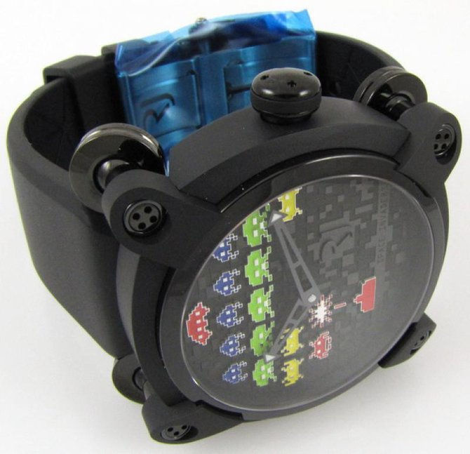 Romain Jerome RJ.M.AU.IN.006.02 Capsules Space Invaders - фото 10