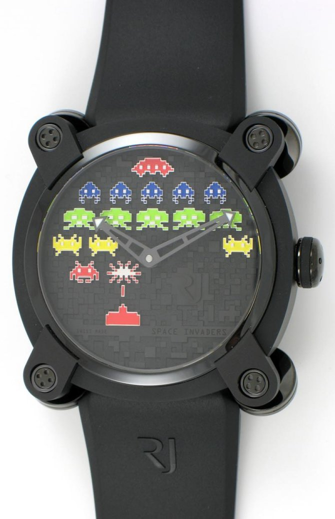 Romain Jerome RJ.M.AU.IN.006.02 Capsules Space Invaders - фото 12