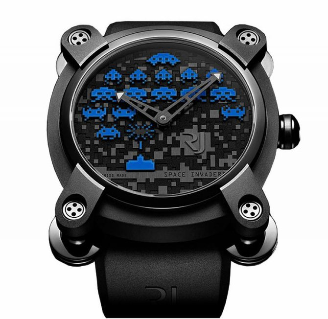 Romain Jerome RJ.M.AU.IN.006.03 Capsules Space Invaders - фото 2