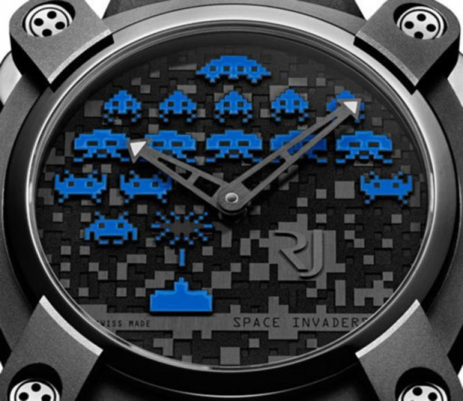 Romain Jerome RJ.M.AU.IN.006.03 Capsules Space Invaders - фото 6