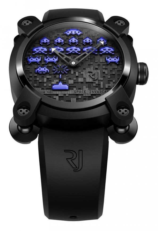 Romain Jerome RJ.M.AU.IN.006.03 Capsules Space Invaders - фото 1