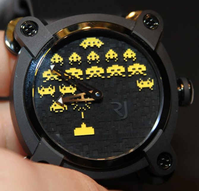 Romain Jerome RJ.M.AU.IN.006.05 Capsules Space Invaders - фото 2
