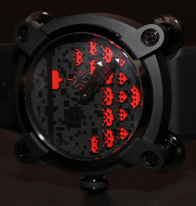Romain Jerome RJ.M.AU.IN.006.06 Capsules Space Invaders - фото 3