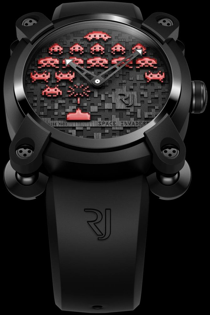 Romain Jerome RJ.M.AU.IN.006.06 Capsules Space Invaders - фото 4