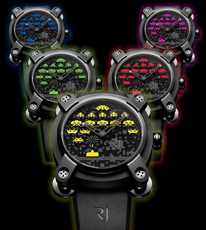 Romain Jerome RJ.M.AU.IN.006.06 Capsules Space Invaders - фото 5
