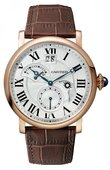 Cartier Rotonde De Cartier W1556240 Small Complication 2 Time Zone Retrograde, Day & Night, Large Date, Small Second