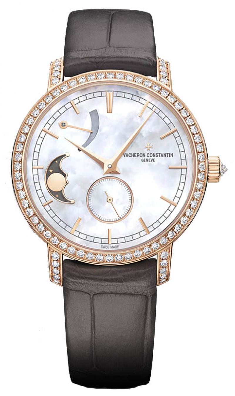 83570/000R-9915 Vacheron Constantin Traditionnelle Moon Phase and Power Reserve Traditionnelle Lady