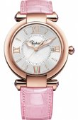 Chopard Imperiale 384221-5001 pink Quartz 36mm