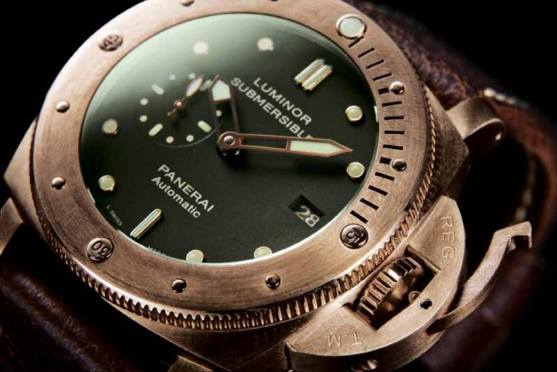 PAM00382 Officine Panerai Luminor Submersible 1950 3 Days Bronzo Limited Edition 1000 Special Editions