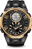 Perrelet Specialties A3035/1 Tourbillon Black & Gold