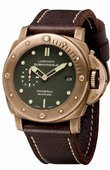 Officine Panerai Special Editions PAM00382 Luminor Submersible 1950 3 Days Bronzo Limited Edition 1000